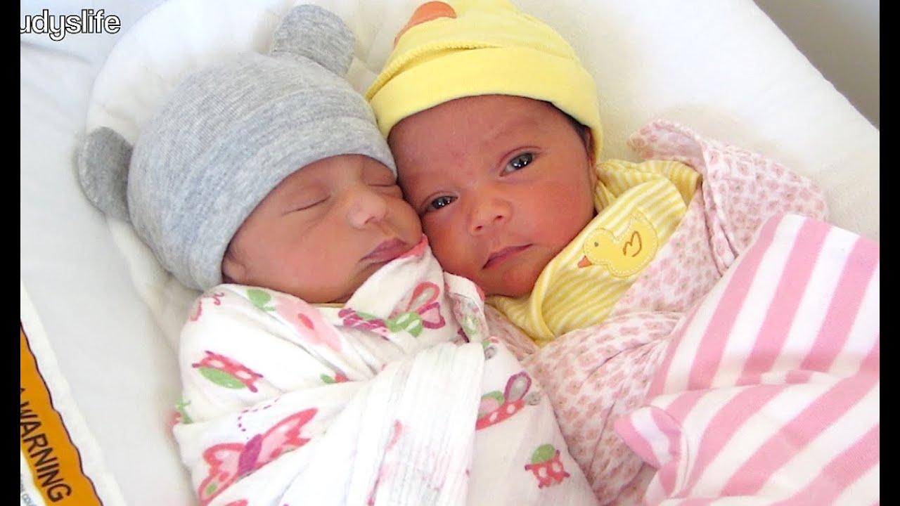 Sweetest newborn twins march 17 2014 itsjudyslife youtube