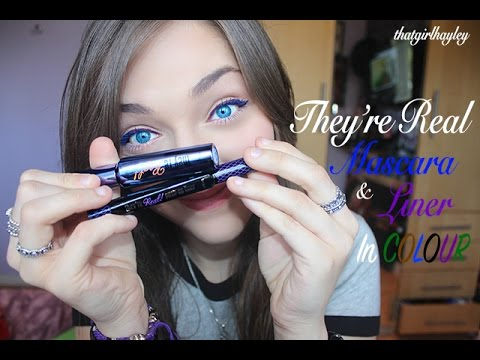 1b5a21172cf Benefit They're Real Mascara and Liner in COLOUR | thatgirlhayley ...