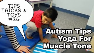 Autism Yoga - Occupational Therapy session