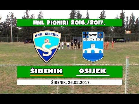 HNL PIONIRI: ŠIBENIK - OSIJEK, 26.02.2017.