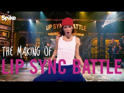 The Making Of… Lip Sync Battle!  Jenna Dewan Tatum