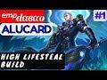 High LifeSteal Build [Rank 3 Alucard] | ᵉᵐᵖdαвαo Alucard Gameplay and Build #1 Mobile Legends
