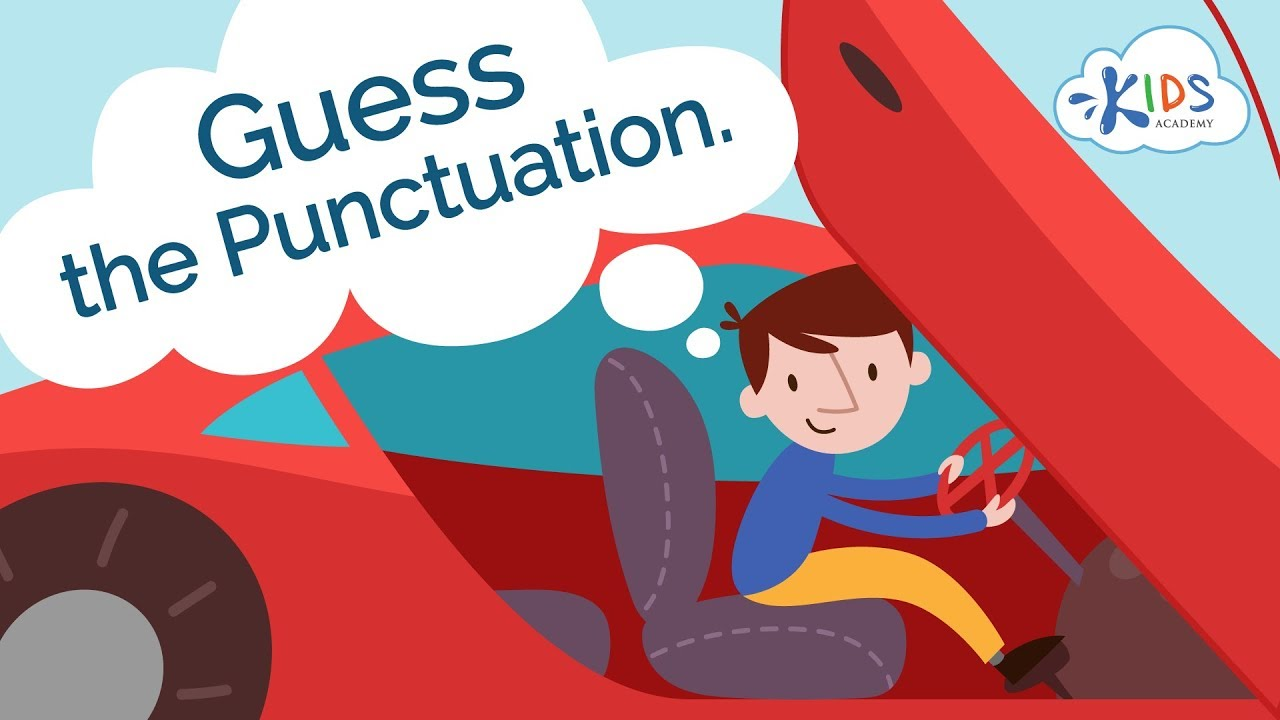 hight resolution of Punctuation for Kids: Period