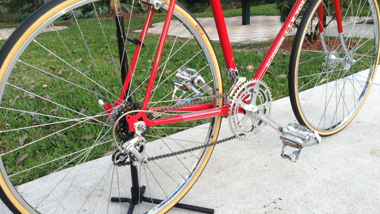 1974 Schwinn Le Tour Restoration Project complete