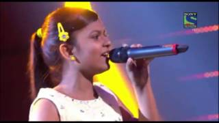 Indian Idol Junior 2015!  Maahi Ve  by Niharika