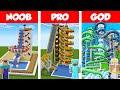Minecraft NOOB vs PRO vs GOD: WATERPARK CHALLENGE in Minecraft / Animation