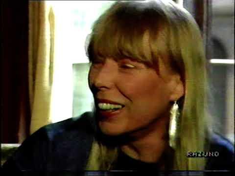 JONI MITCHELL INTERVIEW ABOUT JIMI HENDRIX COMPLETE 1988  INTERVISTA  COMPLETA NOTTE ROCK 1988