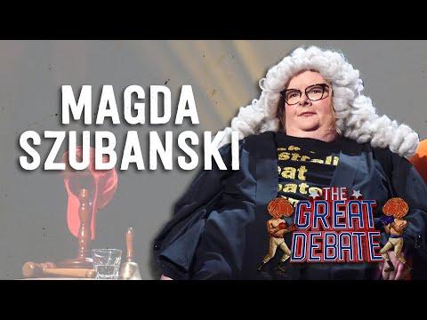 Magda Szubanski Moderator duction  The 29th Annual Great Debate 2018