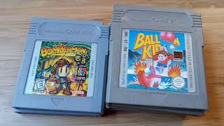 Videogame Collection - Part 4, Game Boy games pt1