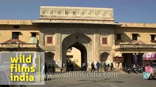 Entrance of City Palace, Jaipur