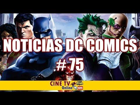 Noticias DC # 75 Problemas con Flash, Aquaman y Zack Snyder, Pelicula Batman, George Miller con DC