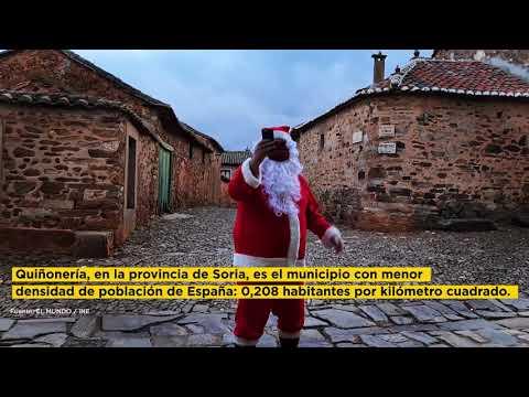 Papá Noel no tiene cobertura en el mundo rural
