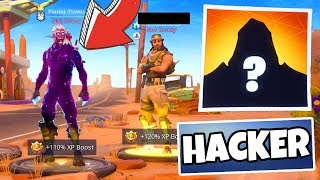 HACKER SHOWS ME GALAXY AND ROAD TRIP SKINs!! (Fortnite Battle Royale)
