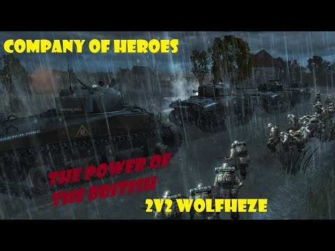 Company of Heroes 1 2020 #12 Wolfheze Power of the British Forces |