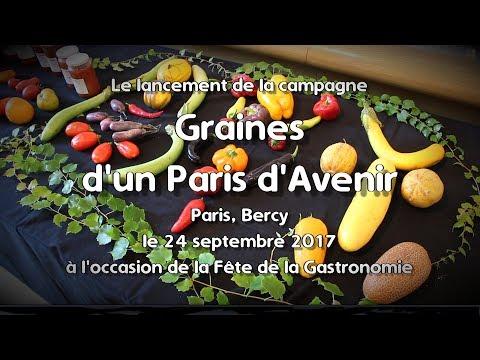 Promouvoir le métier d'artisan semencier: Graines d'un Paris d'avenir