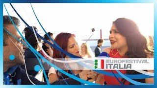 Eurovision 2018 - Jessika Muscat e Jenifer Brening sul Blue Carpet