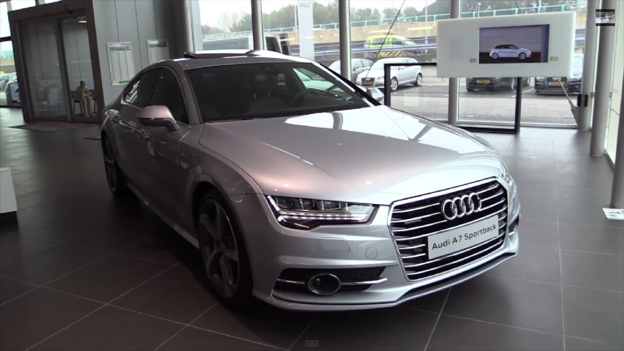 audi a7 s line 2017 start up in depth review interior. Black Bedroom Furniture Sets. Home Design Ideas