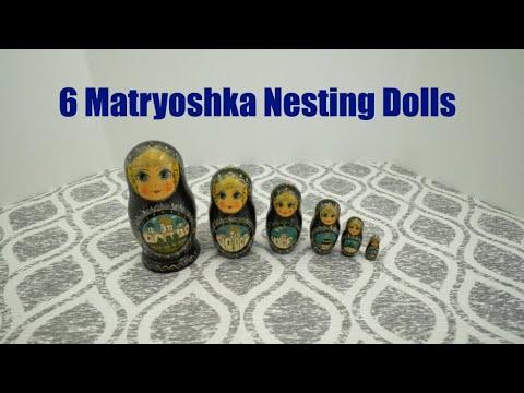 My Nesting Doll Collection #0028 – Russian Matryoshka Dolls (6 Dolls Total)