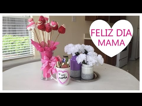Diy regalos faciles para mama 10 de mayo youtube for Ideas para mama