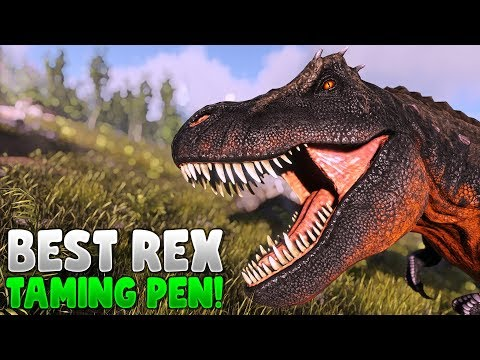 The Best and Cheapest Rex Trap - Ark Survival Evolved