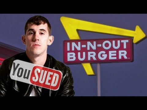 YouTuber SUED By In & Out Burger