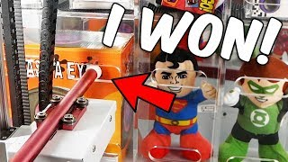 You won't believe what I did at the arcade...