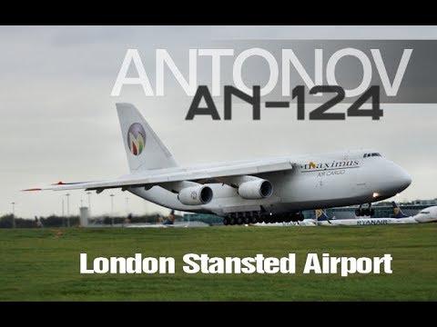 Antonov An 124 Maximus Air Cargo Planespotting Video Rare Giant