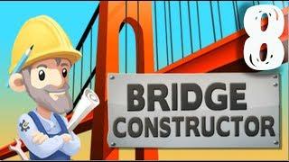 Bridge constructor Trains и сигнальное королевство #8
