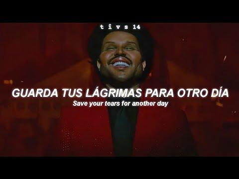The Weeknd - Save Your Tears (Official Music Video) || Sub. Español + Lyrics