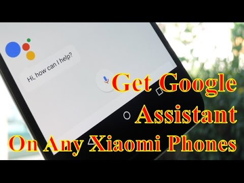 how to open google assistant in redmi 4