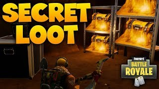 SECRET LOOT LOCATIONS: Fortnite Battle Royale Meilleurs emplacements de butin