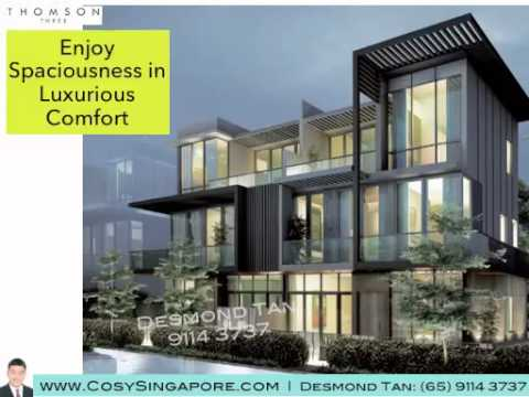 Luxurious Cluster Home Strata Semi Detached At Thomson