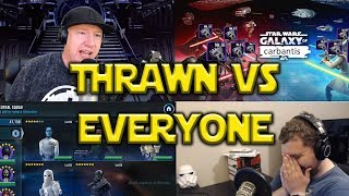 Star Wars: Galaxy Of Heroes - Thrawn VS Everyone