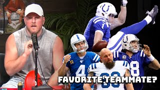 Who Was Pat McAfee's Favorite Teammate?