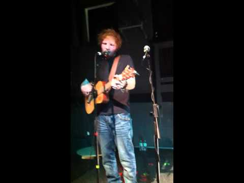 Ed Sheeran - Sofa, Live at the Cluny 2 Newcastle