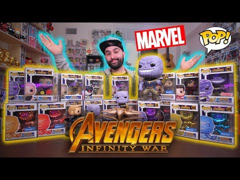 My Epic Funko Pop Collection Ep 2 - Avengers: Infinity War