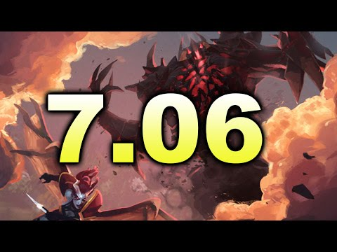 7.06 PATCH Biggest Changes! - New DOTA 2
