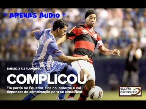 Emelec 3 x 2 Flamengo - Narração: José Carlos Araújo ...