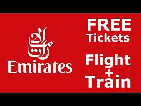 How to book Emirates Multi stop flights + get FREE train Rail&Fly tickets