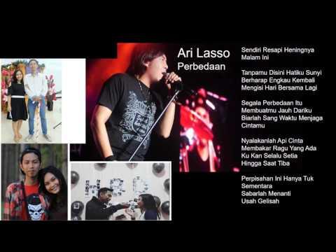 Ari Lasso - Perbedaan (Lengkap Lirik)