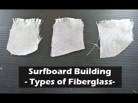 Surfboard Fiberglass and Glassing Schedules: How to Build a Surfboard #21