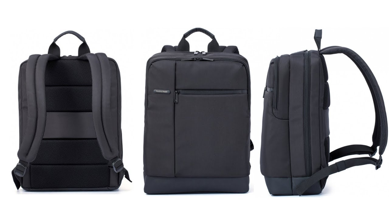 3f6e13140980 Xiaomi Classical Business Laptop Backpack Review - YouTube