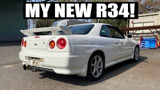 I FINALLY BOUGHT AN R34 IN JAPAN!