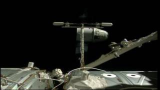 U.S. Commercial Cargo Craft Departs the International Space Station
