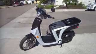 GenZe 2.0---American Made Electric Motor Scooter