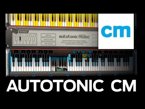 FREE PC/Mac MIDI Chords & Scales App – AutoTonic CM