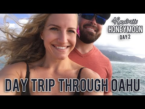 Road trip through Oahu in a day | Honeymoon Series EP. 2 | 10.05.17