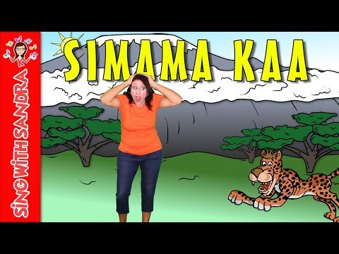 Simama Kaa | Children's Songs | Nursery Rhymes | Music For Kids | Sing With Sandra