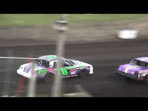 IMCA Hobby Stock Heat 1 Benton County Speedway 6/9/19