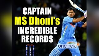 MS Dhoni's captaincy records, find out in Pictures | Oneindia News